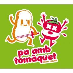 """Samarreta noia """"Pa amb tomàquet espadatxí"""