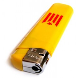 Encenedor plàstic Estelada Roja