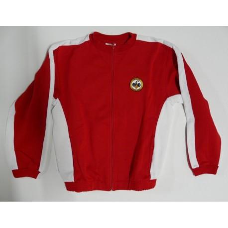 Jaqueta xandall vermella PPCC