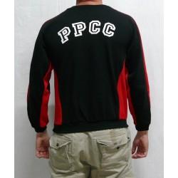 Jaqueta xandall negra PPCC