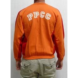 Jaqueta xandall taronja PPCC