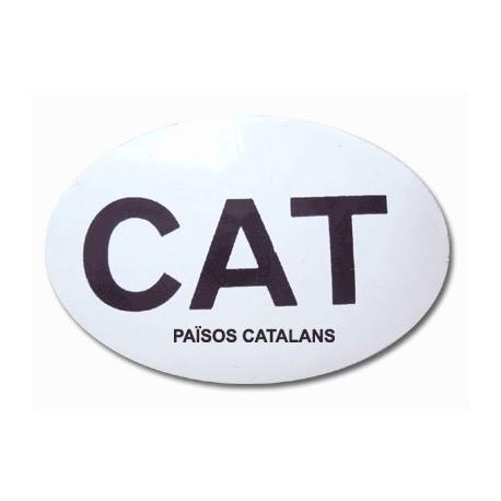 Adhesiu plàstic CAT-PPCC gran el·líptic