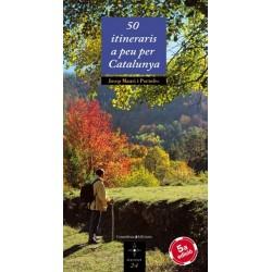 Llibre 50 itineraris a peu per Catalunya