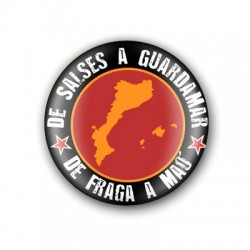 Xapa Països Catalans negra