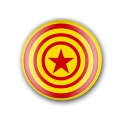 Xapa Estelada groga circular