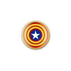 Xapa Estelada blava circular