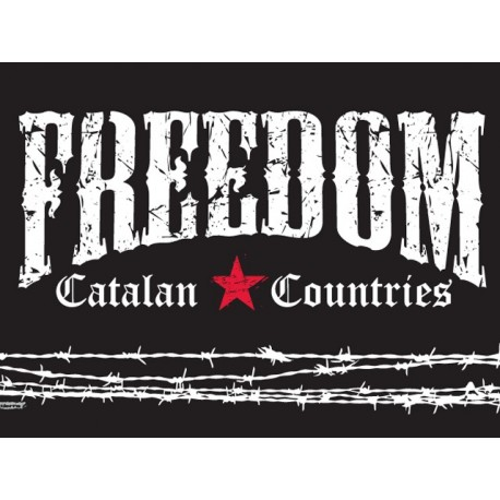Bandera Catalan Countries - Freedom