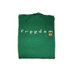 Dessuadora caputxa Freedom verda