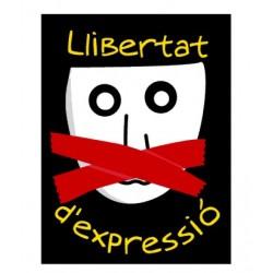 Adhesiu plàstic Llibertat d'expressió
