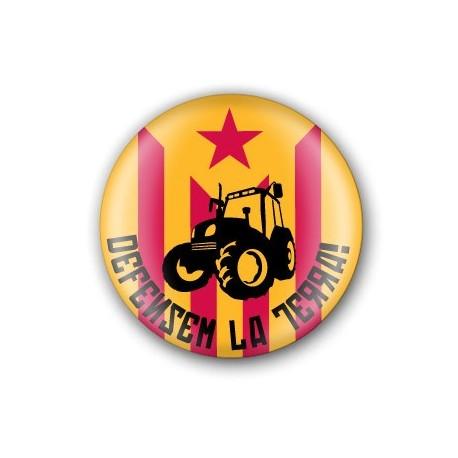Xapa Defensem la Terra! tractor