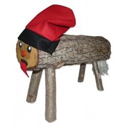 Tió de Nadal mitjà