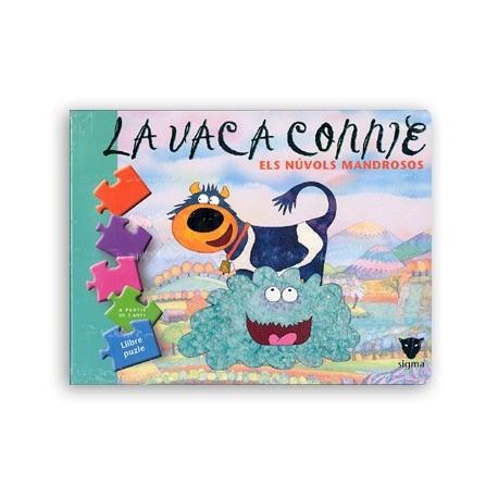 Llibre La vaca Connie-els núvols mandrosos