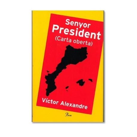 Llibre Senyor President-carta oberta-