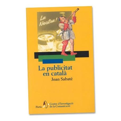 Llibre La publicitat en català