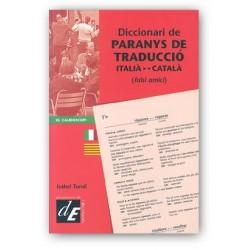 Llibre Diccionari de paranys de traducció català-italià