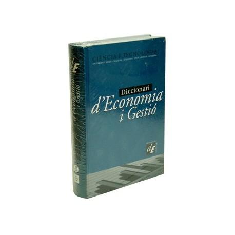 Llibre Dicc. d'Economia i gestió