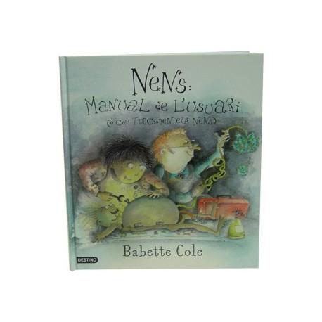 Llibre Nens, manual de l'usuari
