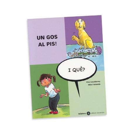 Llibre Un gos al pis- i què?