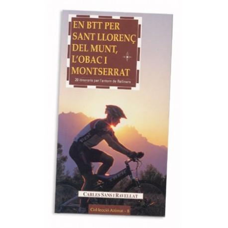 Llibre En BTT per Sant Llorenç del Munt, l'Obac i Montserrrat