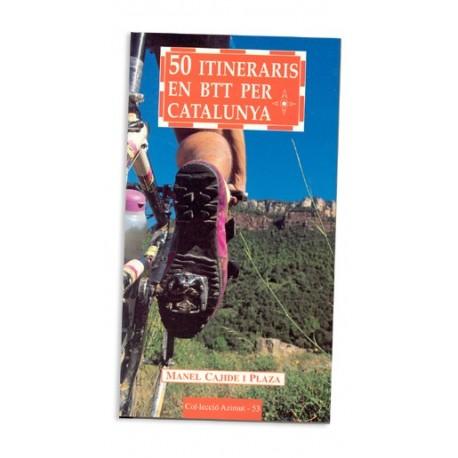 Llibre 50 itineraris en BTT per Catalunya