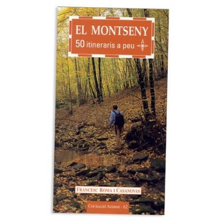 Llibre El Montseny - 50 itineraris a peu
