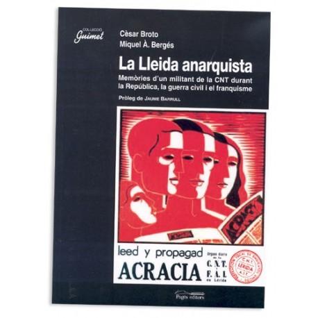 Llibre La Lleida Anarquista