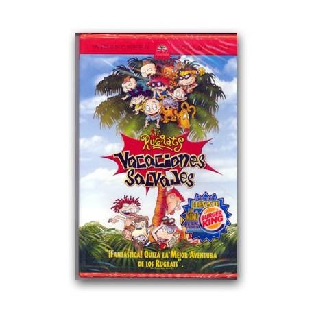 DVD Rugrats. Vacançes salvatges
