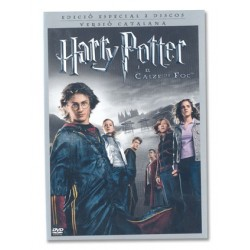 DVD Harry Potter i el Calze de Foc