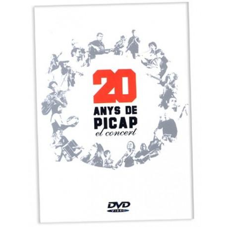 DVD 20 Anys de PICAP - El concert