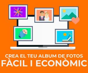 Crea el teu àlbum de fotos. Fàcil i econòmic.